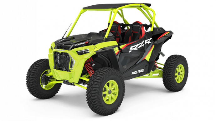 Polaris RZR Turbo S Lifted Lime LE 2021