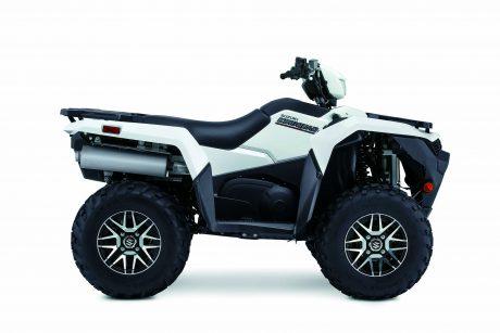 Suzuki KINGQUAD 500XPZ LT-A500XPZ: Blanc 2021