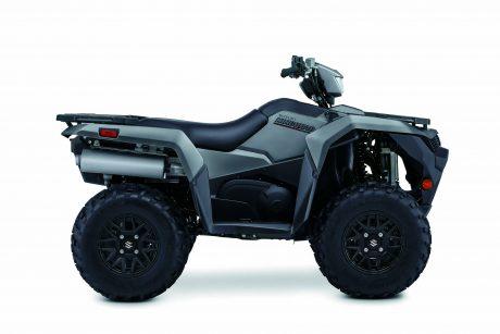 Suzuki KINGQUAD 500XPZ LT-A500XPZS-Gris Mat Métallique 2021