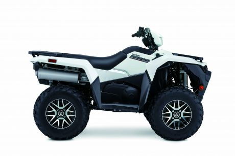 Suzuki KINGQUAD 750XPZ LT-A750XPZ Solide Spécial Blanc 2021